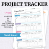 Project Tracker - Sweet Sunset