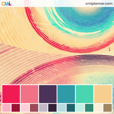 Color Palette #090320 - Color Inspiration from Color My Life. Visit cmlplanner.com/colors/090320 to view the color codes for each color and download the free Adobe (ASE) and Procreate .swatch files.