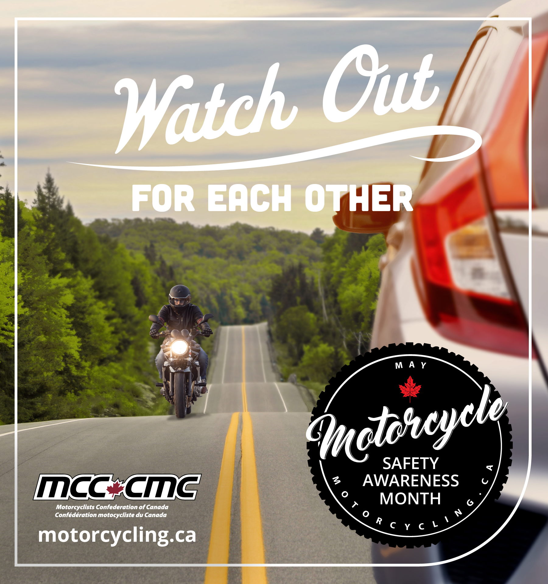 CMMG MOTORCYCLE SAFETY AWARENESS MONTH MESSAGE