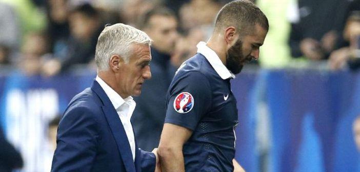 Didier Deschamps ne compte pas reprendre Benzema en EDF