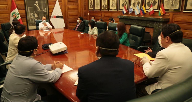 CMP TUVO REUNIÓN DE COORDINACIÓN CON EL MINSA