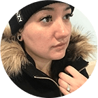 Chalsey Photographer on-ice photo