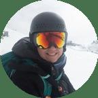 Christine Pettyjohn skiing sunshine village