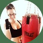 Dominique kick boxing photo