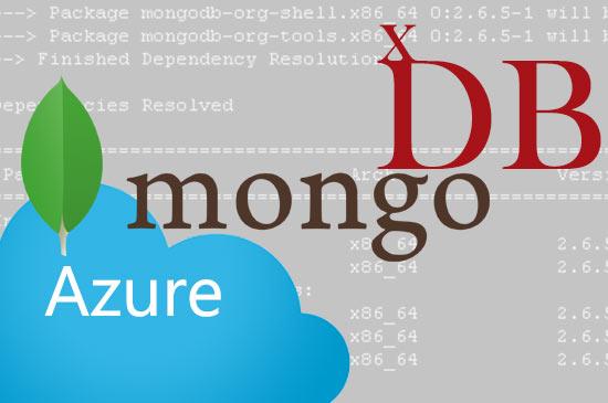 Mongo Database Setup on Azure IaaS for Sitecore xDB