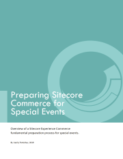 Preparing Sitecore Commerce for Special Events