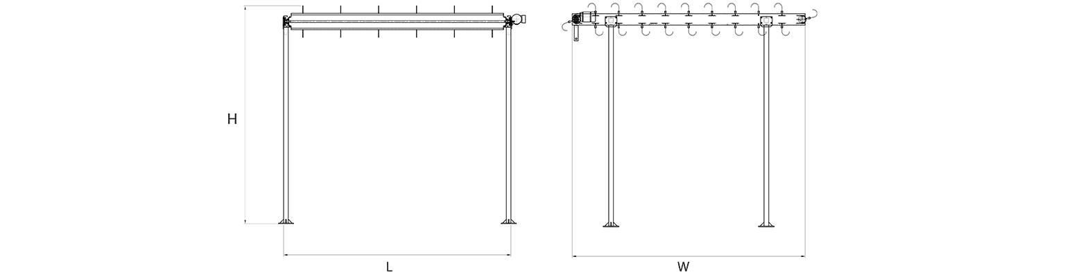 PTU-spacer-frame-carrying-unit-Layout