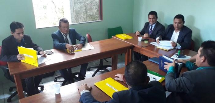 Fotos da 5ª Sessão Ordinária, no Plenário da Câmara Municipal de são Sebastião da Boa Vista