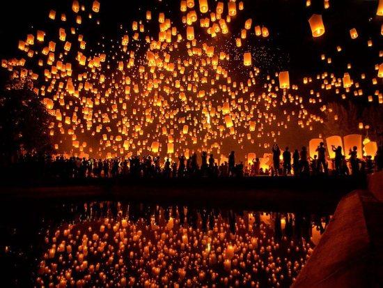 Lantern release at YPLI / Mae Jo