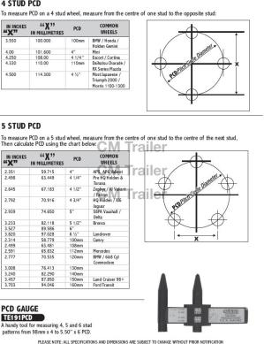 METHOD OF CALCULATING PCD | CM Trailer Parts | New Zealand Trailer Parts & Accessories | Trailer