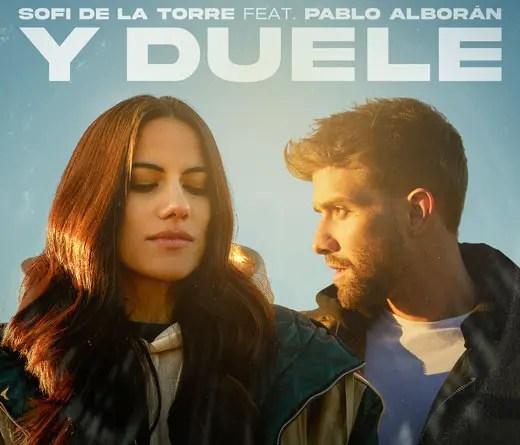 """Ya podés escuchar """"Y duele"""", la colaboración de Pablo Alborán y Sofi de la Torre"""