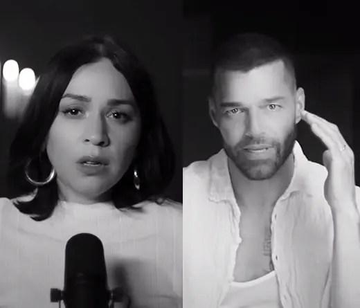 """Ricky Martin junto a Carla Morrison protagonizan el íntimo video de """"Recuerdo""""."""