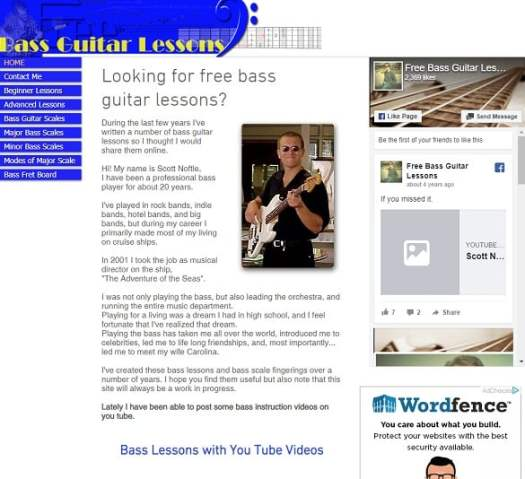 24 Websites to Learn Bass Guitar Lesson Online (Free and ...