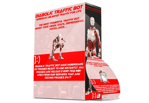 Diabolic Traffic Bot 7.07 full Activated 2021(Cracked)