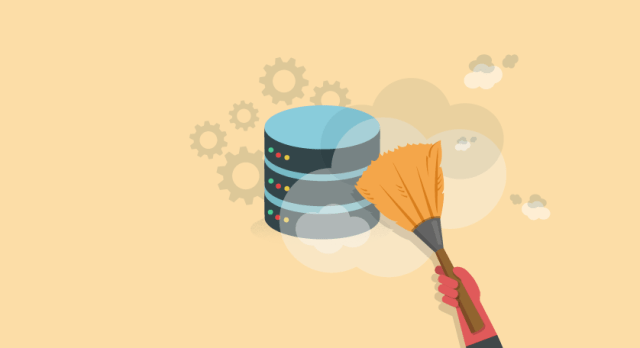 Clean up your database