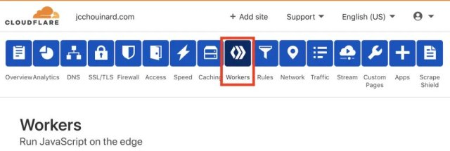 Set-up a Cloudflare Worker - How to Improve PageSpeed on my WordPress Site