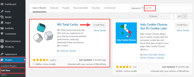 W3 TOTAL CACHE - How to Improve PageSpeed on my WordPress Site
