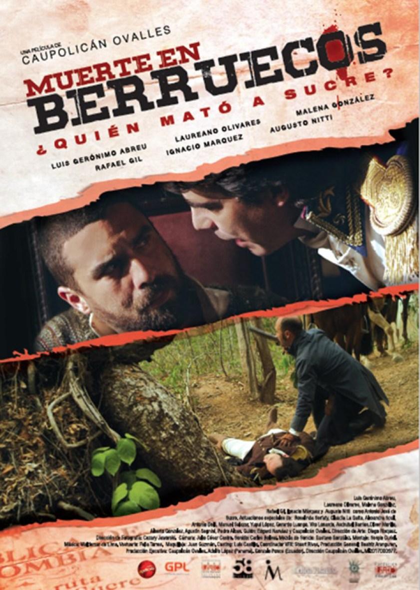 Resultado de imagen para *Muerte en Berruecos* (Poster