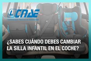 ¿Sabes cuándo debes cambiar la silla infantil en el coche? Grupos de sillas infantiles y cuándo cambiarlas