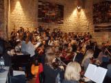 Pro musica, Zbor Glazbene umjetnosti Sveučilišta u Mostaru, solisti i orkestar na probi u Dubrovniku