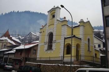 Filijalna crkva sv. Benedikta u Čajniču - župa Nevesinje