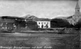 Nevesinje - župska crkva i kuća nekad