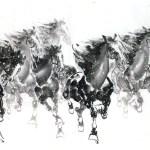 Chinese Horse Painting Cnag013314 Cnartgallery Com