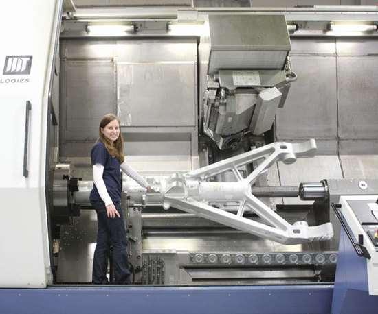 CNC machining aerospace parts