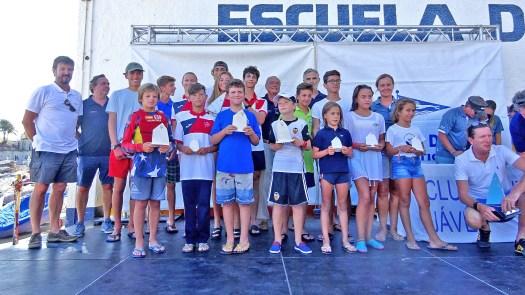 Trofeos Optimist Semana de la Vela