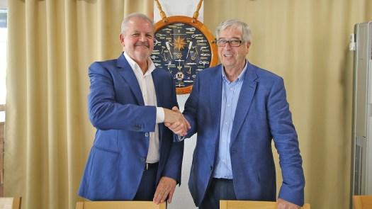 Capitán Marítimo Alicante y Miguel Baena