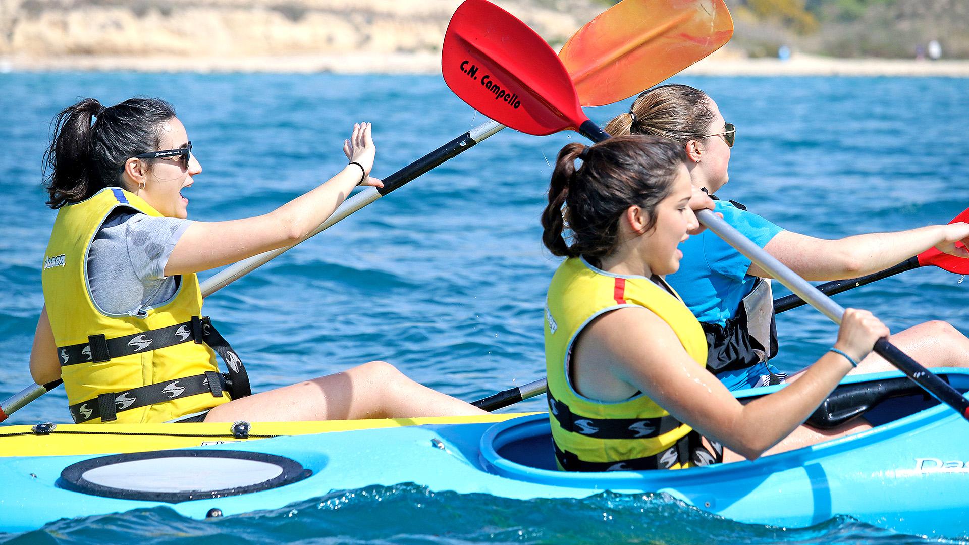 'De calas por Campello' - Kayak de Mar