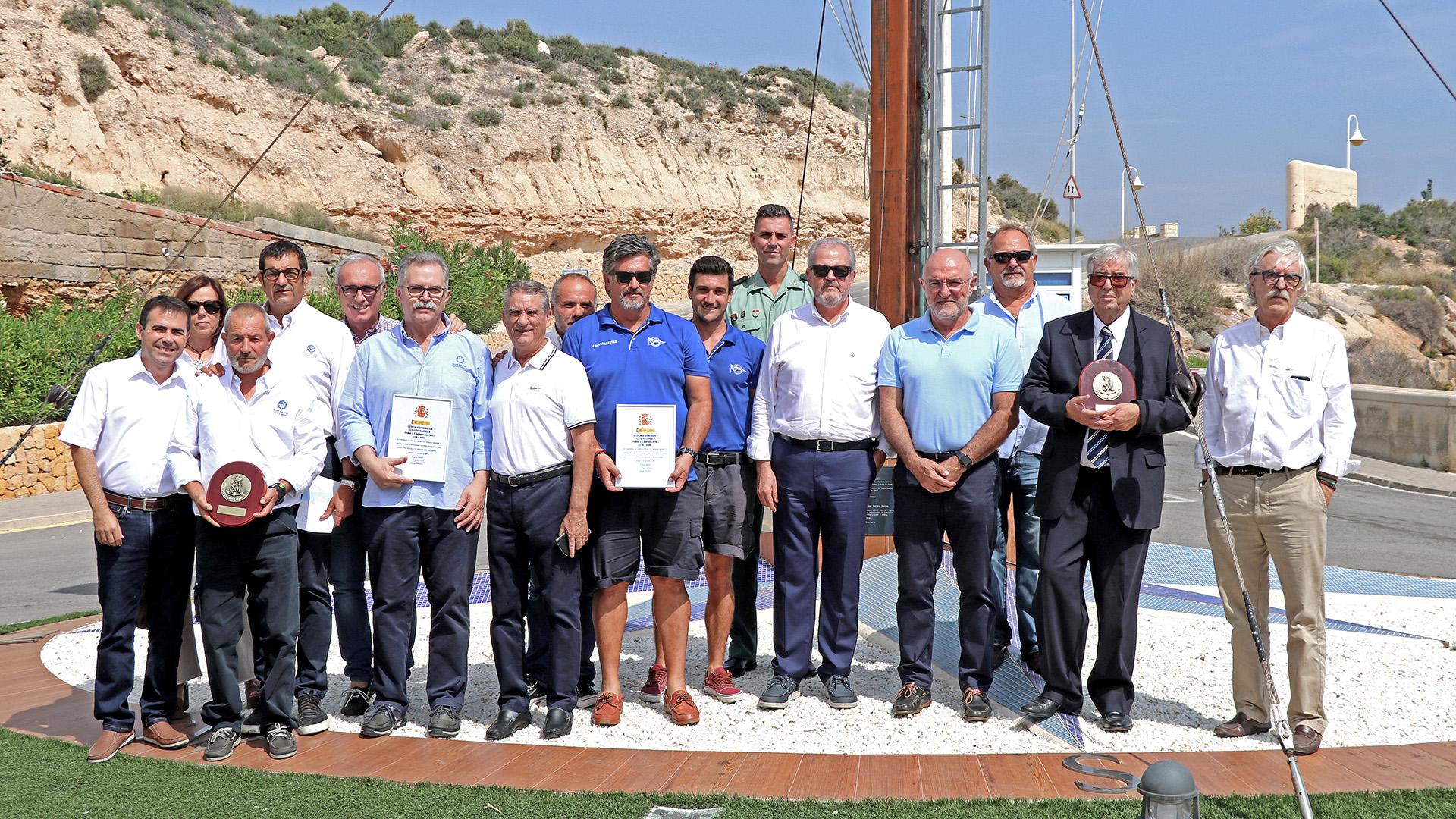 Reconocimiento Salvamento Marítimo - Club Náutico Campello
