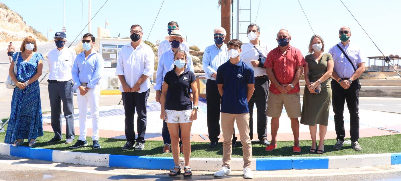 Izado Bandera Azul - Club Náutico Campello