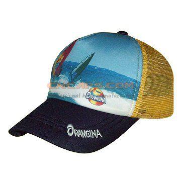 sublimation print on baseball cap no-lazy