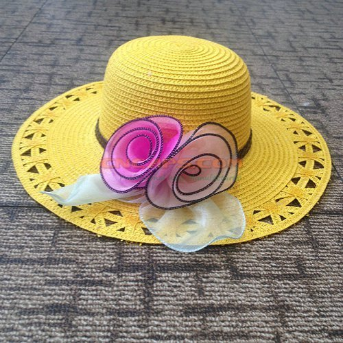 women straw hat