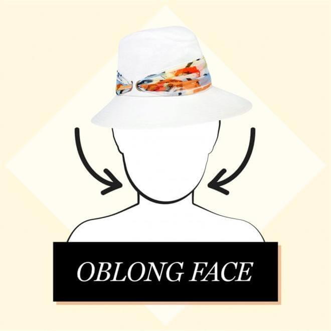 oblong face