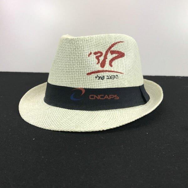 custom print fedora hat