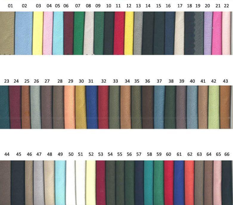 Cotton fabric swatch