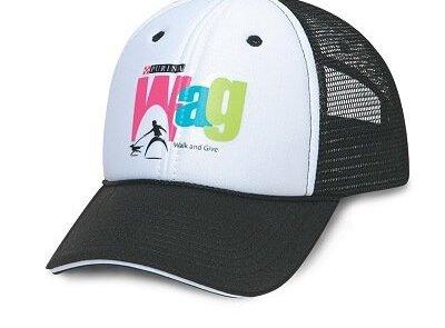Custom print cap