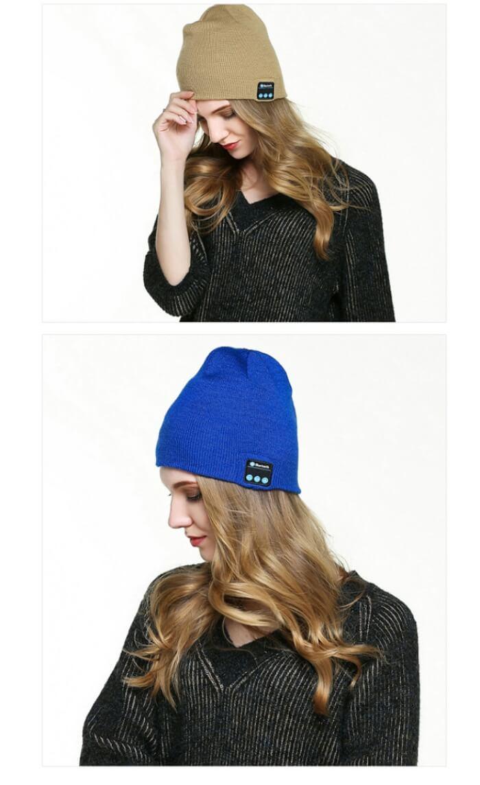 bluethooth beanie hat