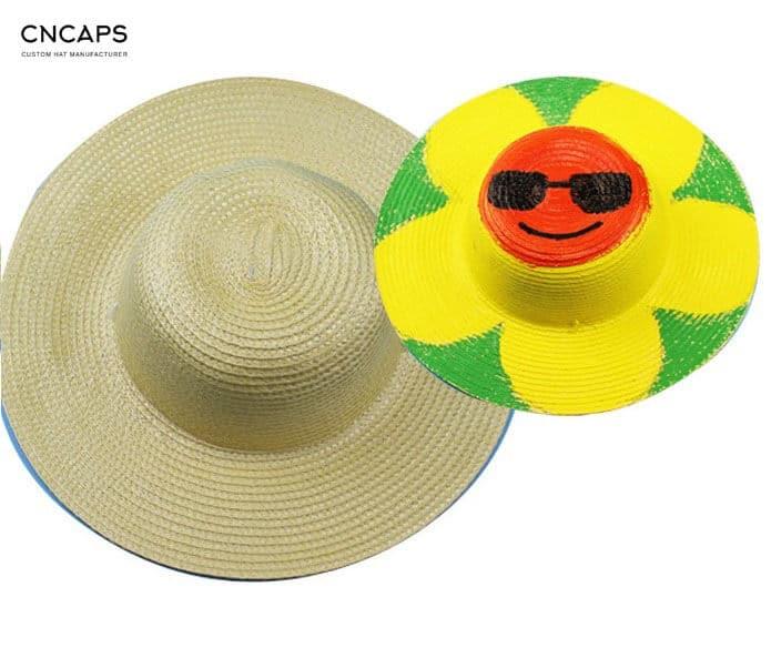 diy straw hat