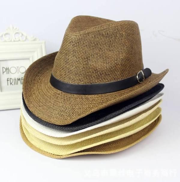 cowboy straw hat colors
