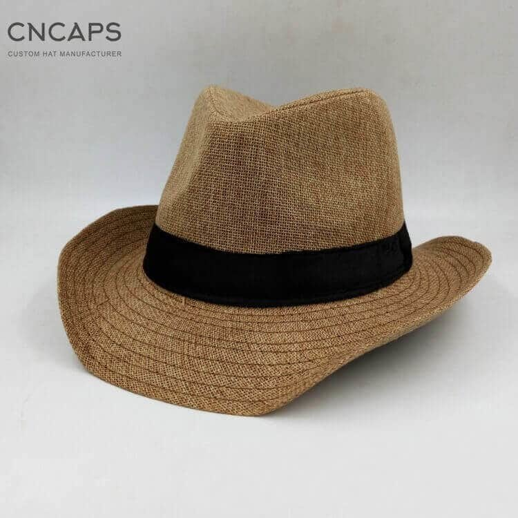 western cowboy hat Brown color