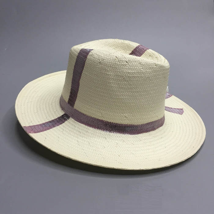 Hand Drawing Panama hat