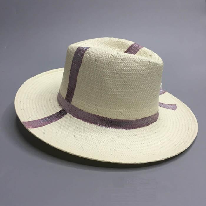 Hand Drawing Panama hat