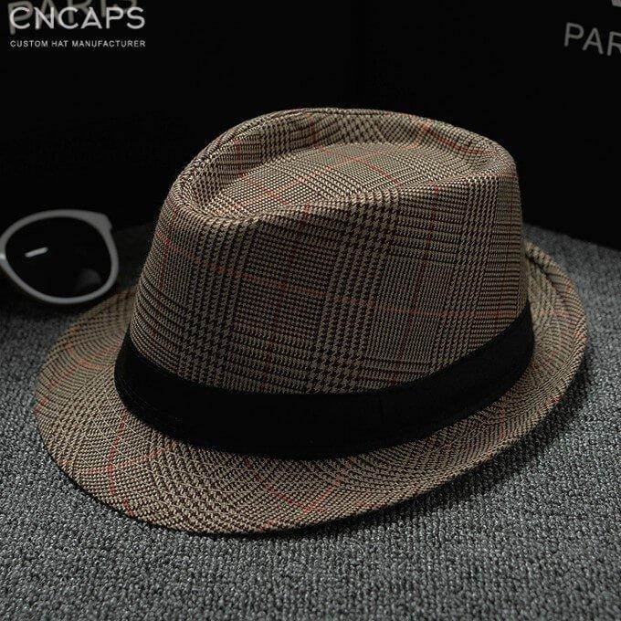 check fedora hat