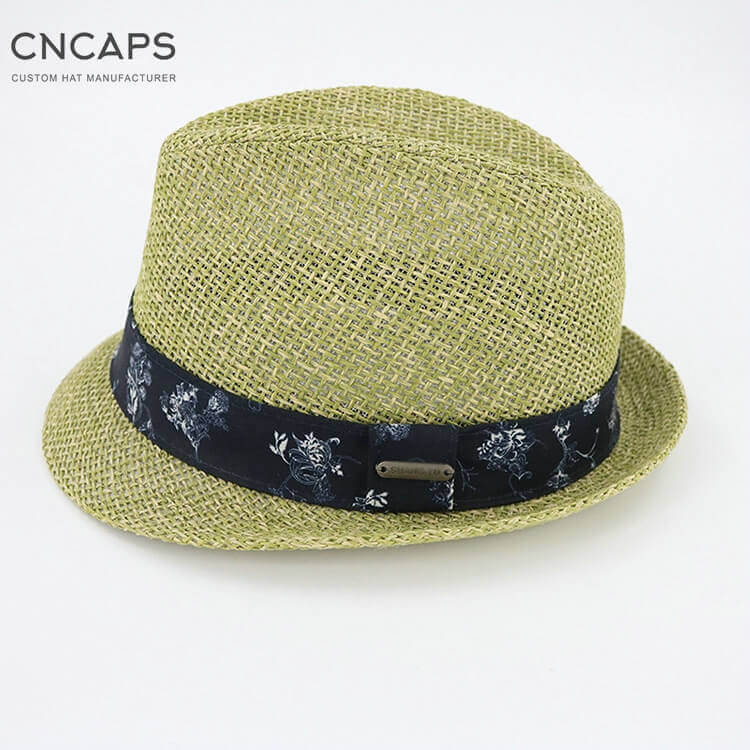 summer fedora hat