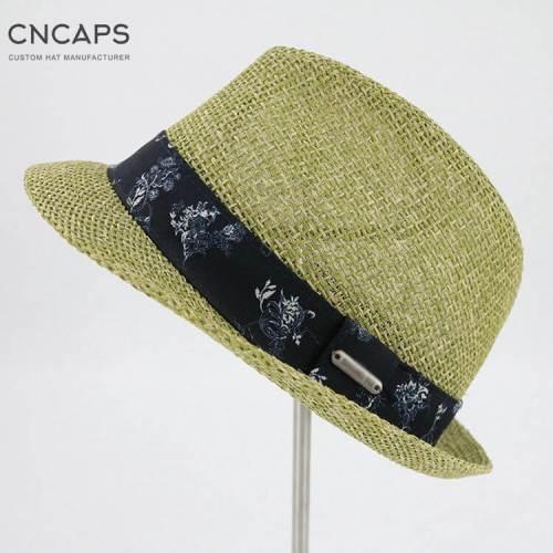 summer fedora hat
