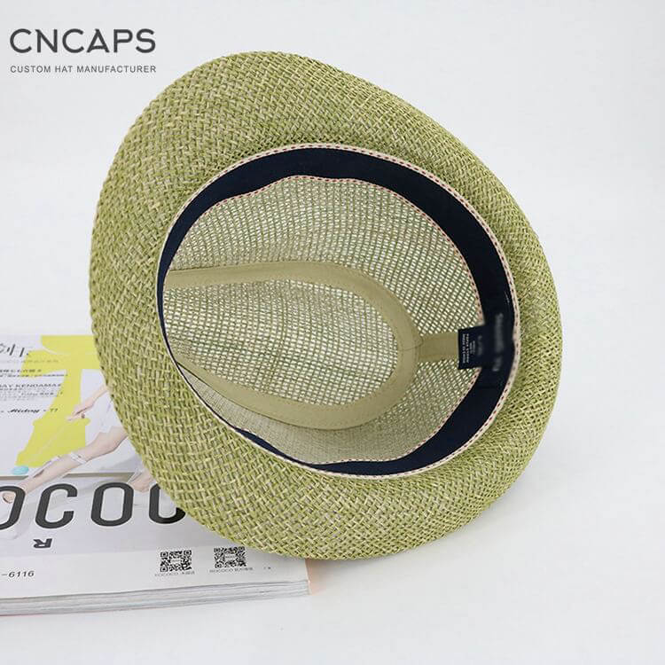 summer fedora hat classic