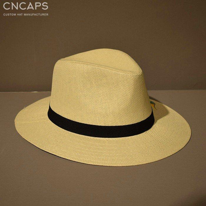 Panama hat hand drawing